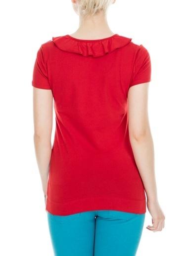 Love Moschino Tişört Kırmızı